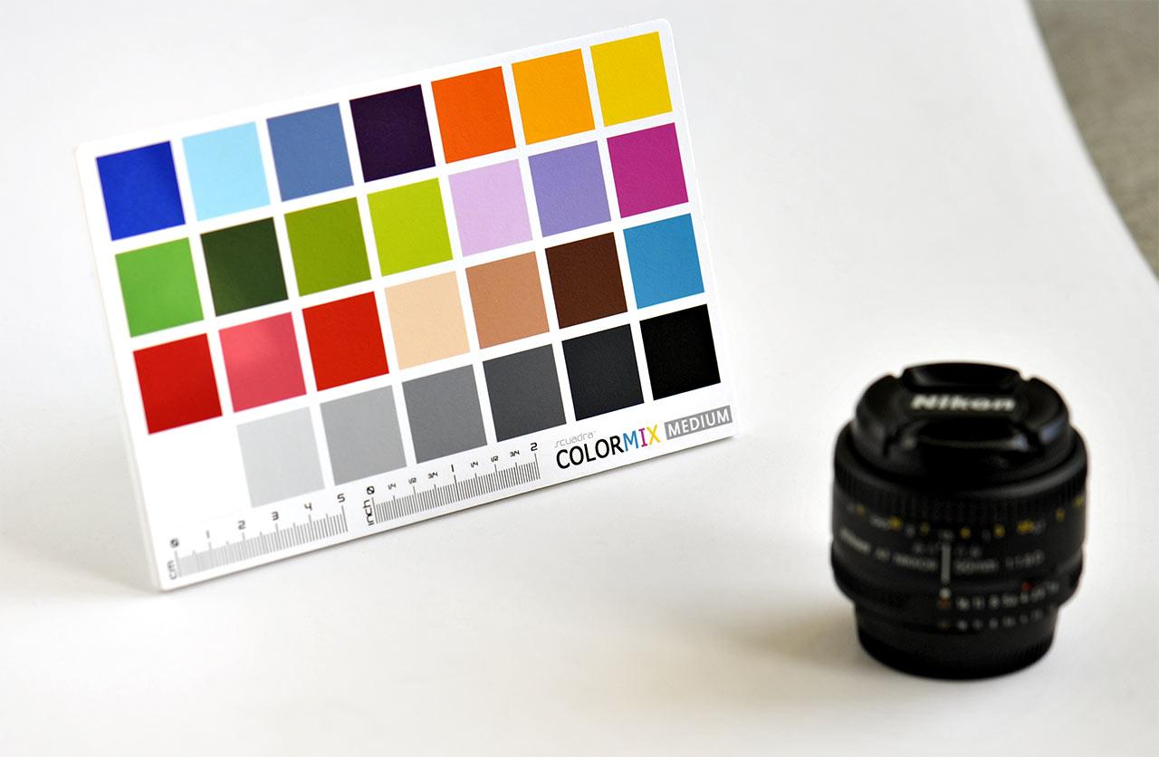 Scuadra ColorMix charte de référence coloré